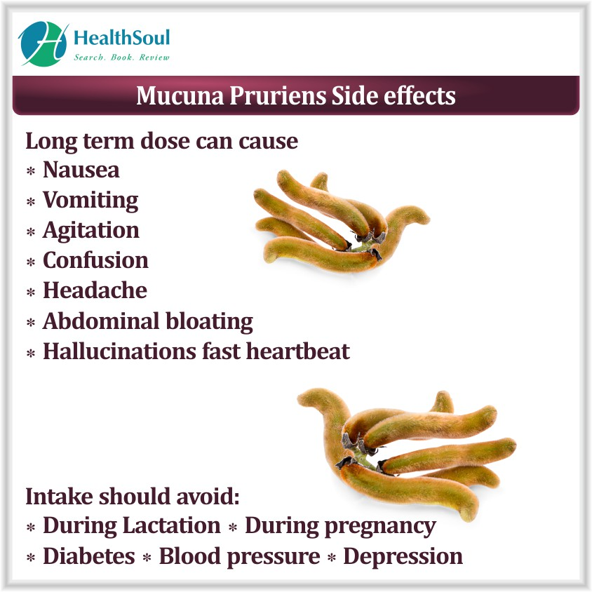 Mucuna Pruriens side effects