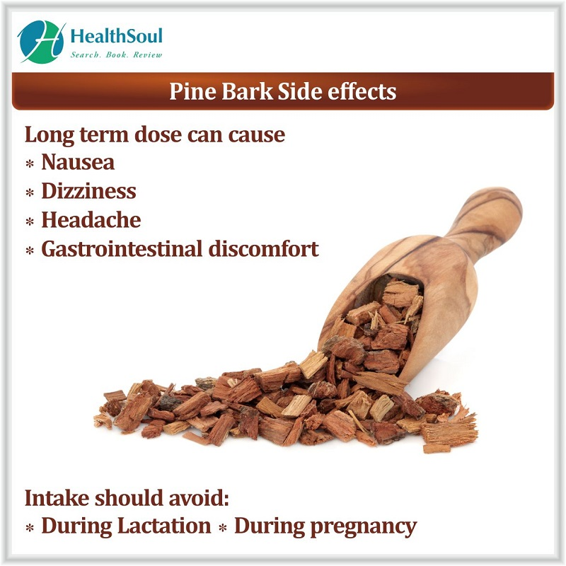 Side effects of Pine bark extract