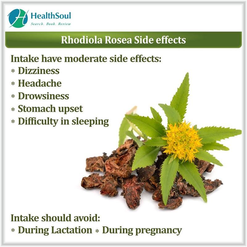 Rhodiola Rosea Side Effects