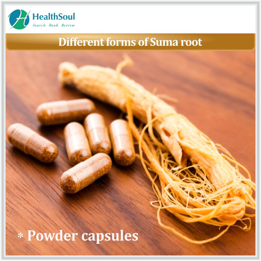 Different forms of Suma root