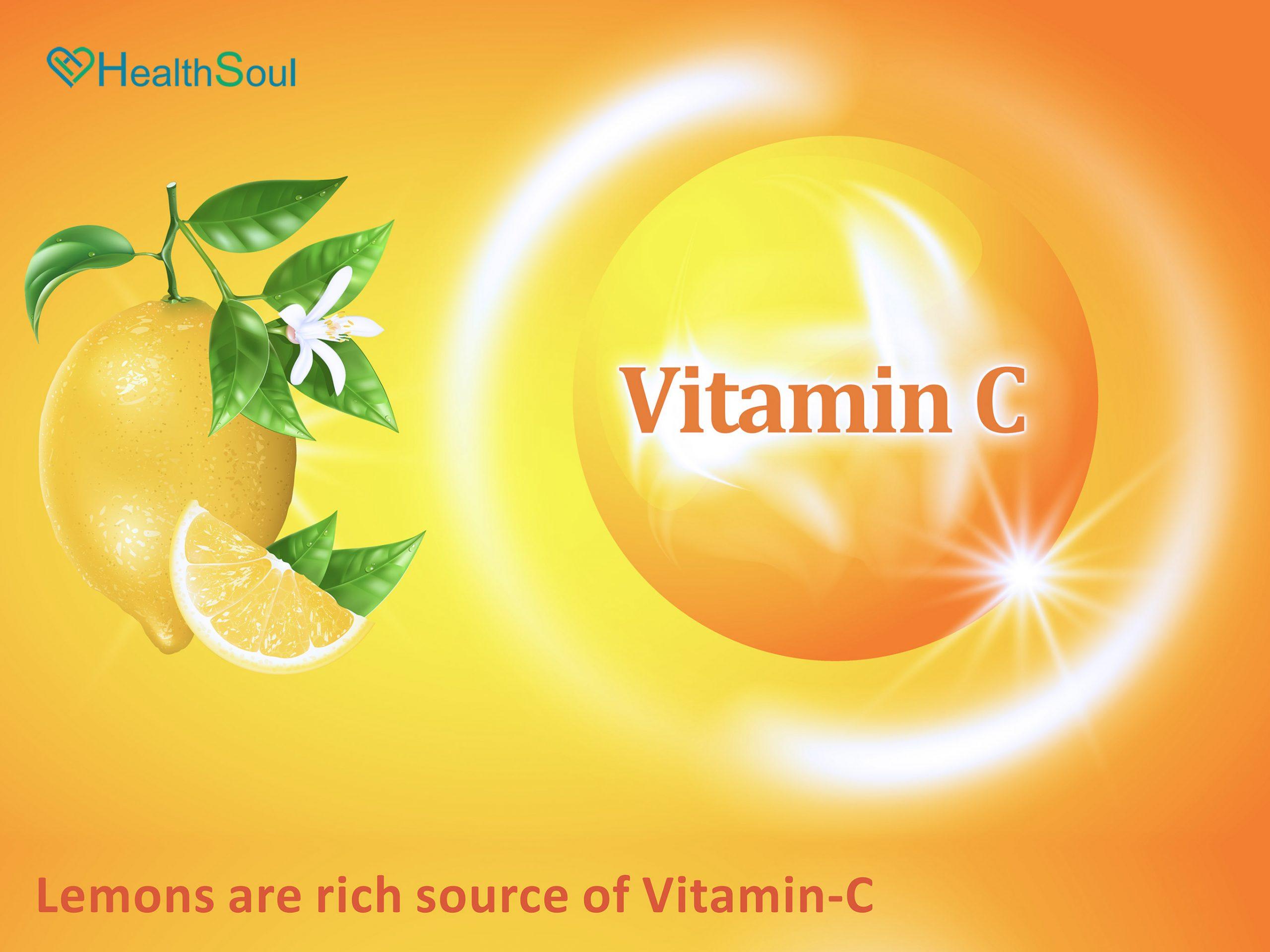 Lemons Rich Source of Vitamin C