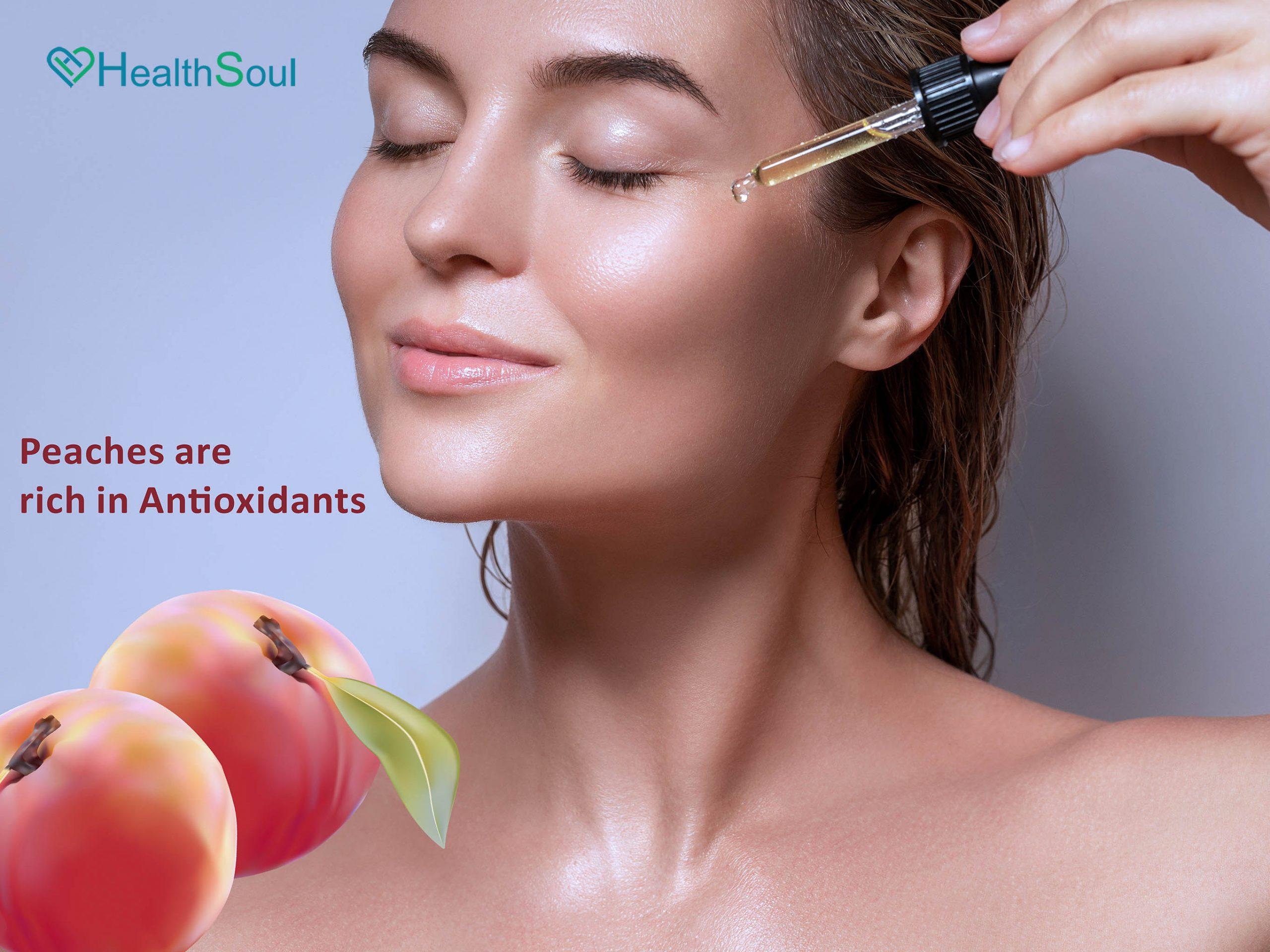 Peaches Rich in Antioxidants
