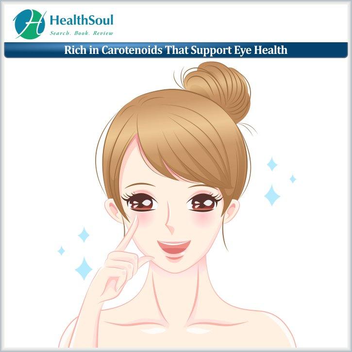 Rich in Carotenoids That Support Eye Health