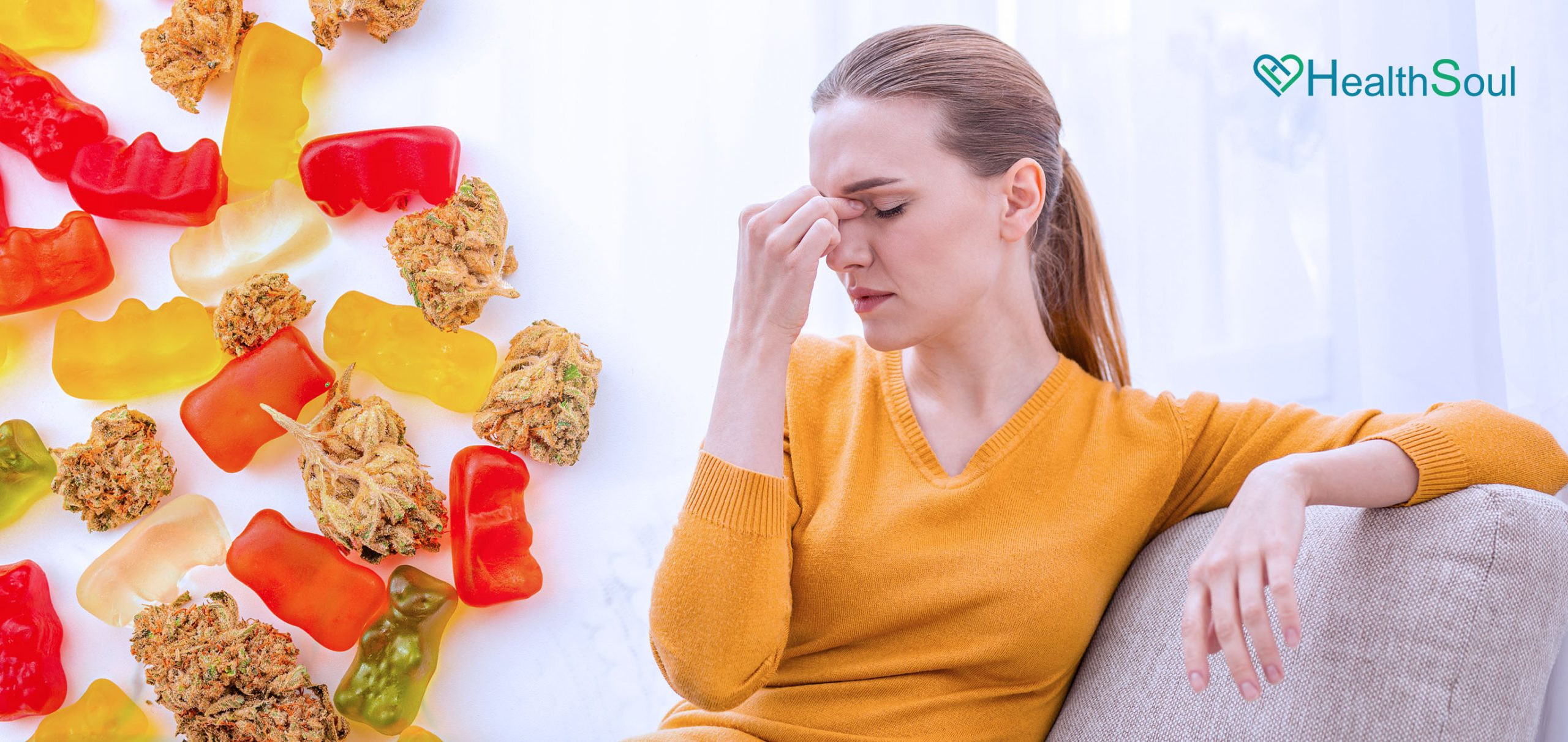 Effects of Delta-8 Gummies on Anxiety   HealthSoul